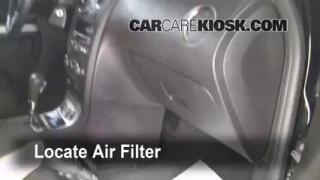 Cabin Filter Replacement: Chevrolet HHR 2006-2011