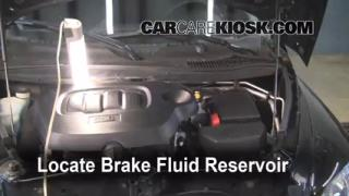 2006-2011 Chevrolet HHR Brake Fluid Level Check