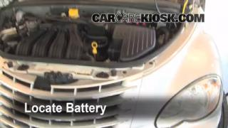 Battery Replacement: 2001-2010 Chrysler PT Cruiser