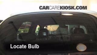 Third Brake Light Bulb Change Chrysler PT Cruiser (2001-2010)