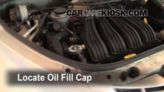 How to Add Oil Chrysler PT Cruiser (2001-2010)