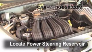 Follow These Steps to Add Power Steering Fluid to a Chrysler PT Cruiser (2001-2010)