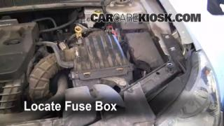 Replace a Fuse: 2007-2010 Chrysler Sebring