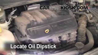 Check Oil Level 2007-2010 Chrysler Sebring