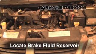Add Brake Fluid: 2005-2007 Dodge Grand Caravan