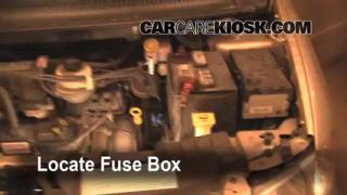 Blown Fuse Check 2005-2007 Dodge Grand Caravan