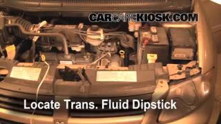 Add Transmission Fluid: 2005-2007 Dodge Grand Caravan