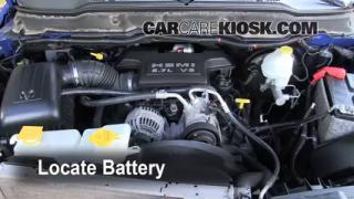 Battery Replacement: 2006-2008 Dodge Ram 1500