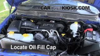 How to Add Oil Dodge Ram 1500 (2006-2008)