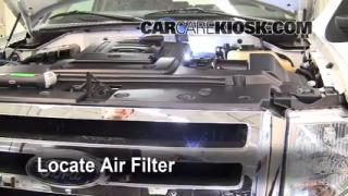2007-2014 Ford Expedition Engine Air Filter Check