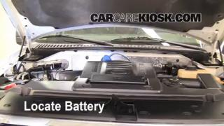 How to Clean Battery Corrosion: 2007-2013 Ford Expedition