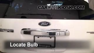 Third Brake Light Bulb Change Ford Expedition (2007-2014)