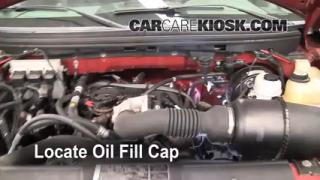 How to Add Oil Ford F-150 (2004-2008)