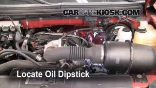 Check Oil Level 2004-2008 Ford F-150