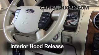 Open Hood How To 2005-2007 Ford Freestyle