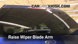 Rear Wiper Blade Change Ford Freestyle (2005-2007)
