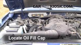 How to Add Oil Ford Ranger (1998-2011)