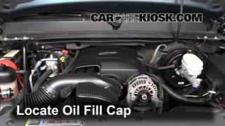 How to Add Oil Chevrolet Suburban 1500 (2007-2013)