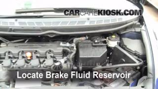 2006-2011 Honda Civic Brake Fluid Level Check