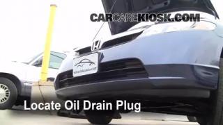 Oil & Filter Change Honda Civic (2006-2011)