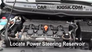 Follow These Steps to Add Power Steering Fluid to a Honda Civic (2006-2011)