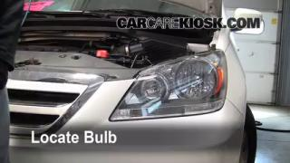 Headlight Change 2005-2010 Honda Odyssey