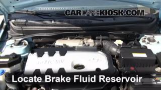2001-2005 Kia Rio Brake Fluid Level Check