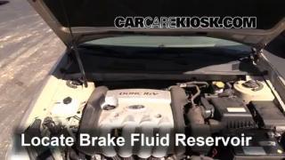 Add Brake Fluid: 2006-2010 Kia Optima