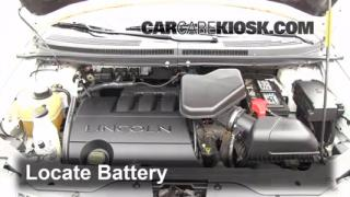 Battery Replacement: 2007-2012 Hyundai Santa Fe