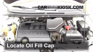How to Add Oil Lincoln MKX (2007-2014)