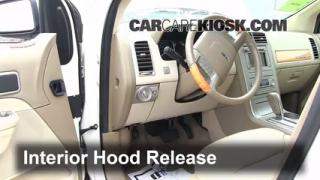 Open Hood How To 2007-2013 Lincoln MKX