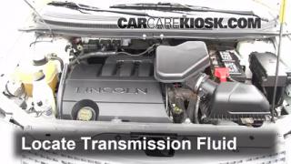 Add Transmission Fluid: 2007-2012 Hyundai Santa Fe