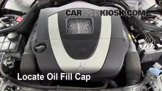 How to Add Oil Mercedes-Benz C230 (2001-2007)