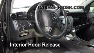 Open Hood How To 2001-2007 Mercedes-Benz C230