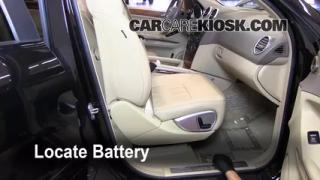 Battery Replacement: 2006-2011 Mercedes-Benz ML350
