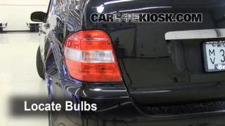 Tail Light Change 2006-2011 Mercedes-Benz ML350