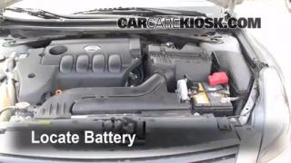 Battery Replacement: 2007-2012 Nissan Altima