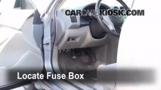 2007-2013 Nissan Altima Interior Fuse Check