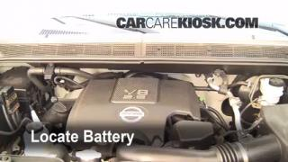 Battery Replacement: 2004-2010 Infiniti QX56