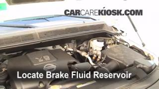 Add Brake Fluid: 2004-2013 Nissan Titan