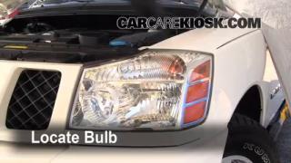 Parking Light Change 2001-2004 Nissan Pathfinder