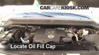 How to Add Oil Nissan Titan (2004-2013)