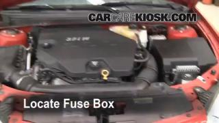 Blown Fuse Check 2005-2010 Pontiac G6