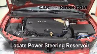 Follow These Steps to Add Power Steering Fluid to a Pontiac G6 (2005-2010)