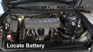 Battery Replacement: 2004-2008 Pontiac Grand Prix