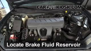 Add Brake Fluid: 2004-2008 Pontiac Grand Prix