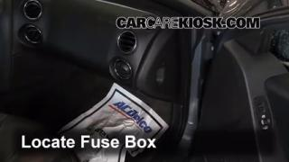 2004-2008 Pontiac Grand Prix Interior Fuse Check