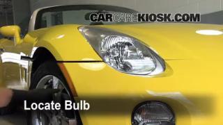 Parking Light Change 2006-2009 Pontiac Solstice