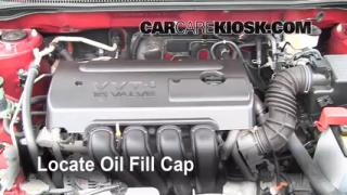 How to Add Oil Toyota Corolla (2003-2008)