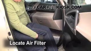 2006-2012 Toyota RAV4 Cabin Air Filter Check